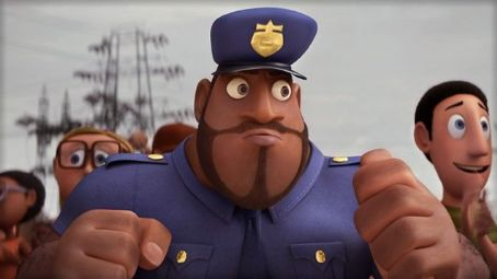 Mr. T Earl Devereaux (voiced by ) stars in CLOUDY WITH A CHANCE OF MEATBALLS.