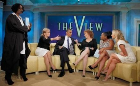 Joy Behar Barack Obama onThe View