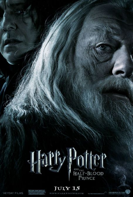 Severus Snape Harry Potter and the Half-Blood Prince Teaser Poster