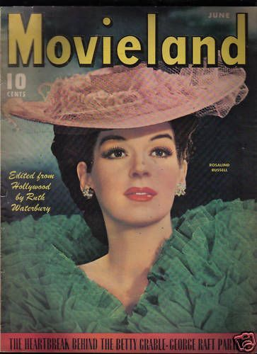 Rosalind Russell - Movieland Magazine [United States] (June 1943)