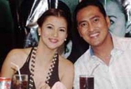 Mark Lapid  and Tanya Garcia