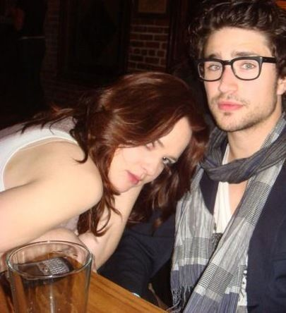 Matt Dallas and April Matson