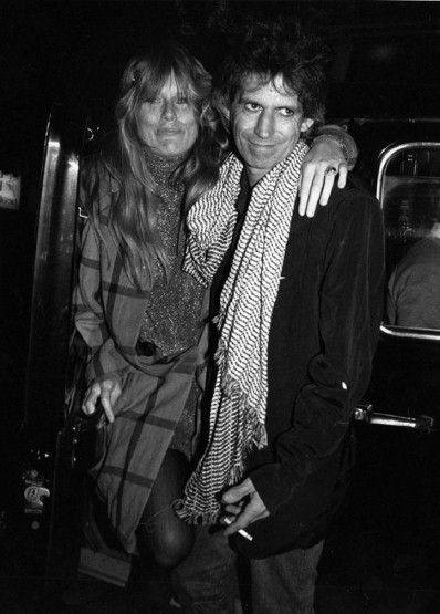 Keith Richards - Keith and Patti