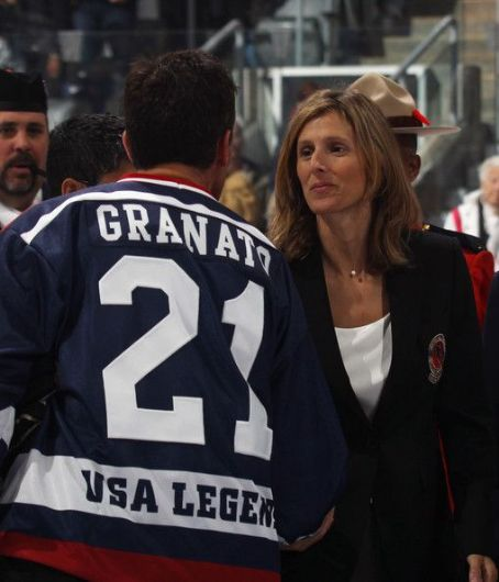 Cammi Granato  and Ray Ferraro