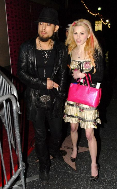 Jayme Langford  and Dave Navarro