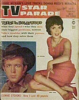 Annie Fargue - TV Star Parade Magazine Cover [United States] (April 1961)