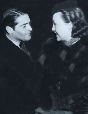 Margo and Francis Lederer