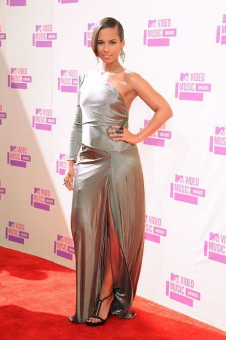 Alicia Keys at the 2012 MTV Video Music Awards (September 6)