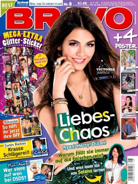 Victoria Justice - Bravo Magazine Cover [Germany] (15 February 2012)