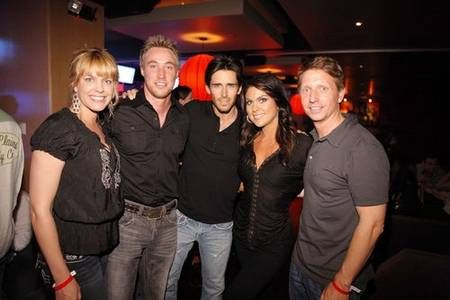 Kyle Lowder Bradley with Kyle, Arianna and Brandon