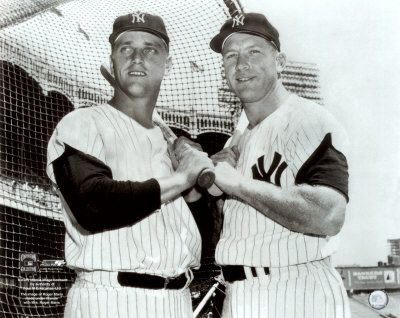 Mickey Mantle Roger Maris & Mickey
