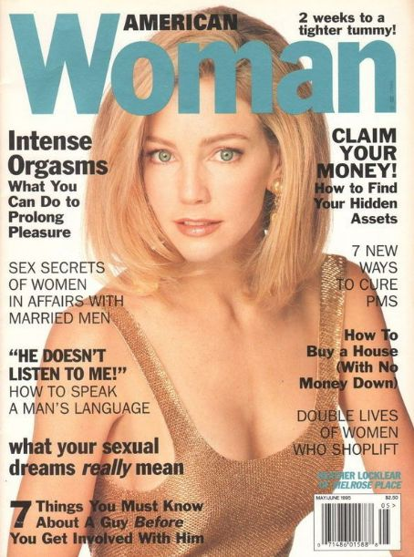 Heather Locklear - American Woman Magazine Cover [United States] (May 1995)