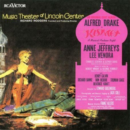 Fanny Kismet 1965 Summer Revivel Starring Alfred Drake
