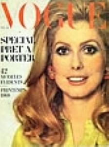 Catherine Deneuve - Vogue Magazine [France] (February 1968)