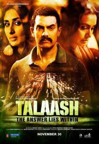 Kareena Kapoor - New Poster of 2012 movie 'Talaash'