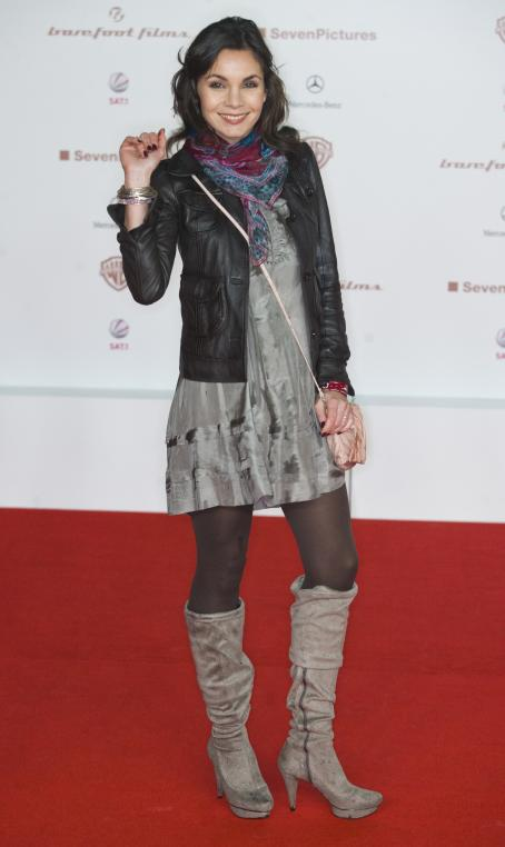 Nadine Warmuth  - Premiere Of 'Zweiohrküken' In Berlin 2009-11-24