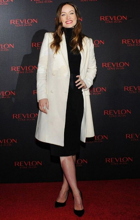 Olivia Wilde attend Revlon LOVE IS ON With Olivia Wilde