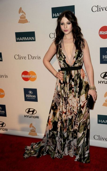 Michelle Trachtenberg Clive Davis and the Recording Academy's 2012 Pre-GRAMMY Gala