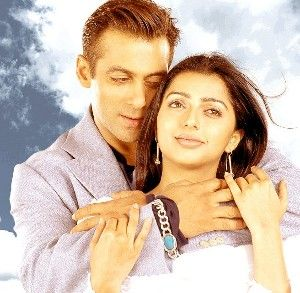 Salman Khan and Bhumika Chawla Sallu and Bhumi
