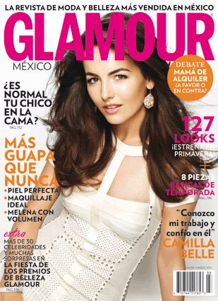 Camilla Belle - Glamour Magazine Cover [Mexico] (March 2011)