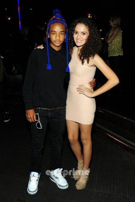 Madison Pettis and Jaden Smith