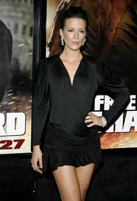 Live Free or Die Hard Kate Beckinsale - New York Premiere of 'Die Hard 4' (June 22 2007)