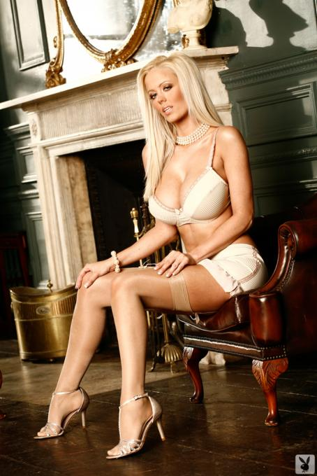 Malene Espensen  - Playboy UK Cyber Girl - May 2008