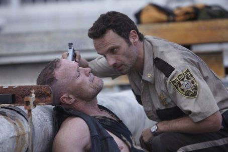 Michael Rooker The Walking Dead Photo Gallery