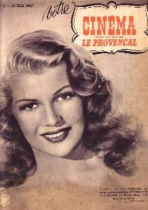 Rita Hayworth - Votre Cinema Magazine [France] (13 May 1947)