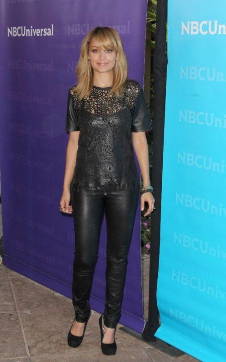 Nicole Richie: Lovely In Leather