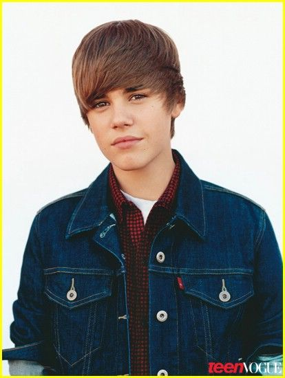 Justin Bieber covers Teen Vogue October 2010