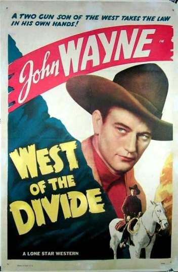 West of the Divide (1934) Poster