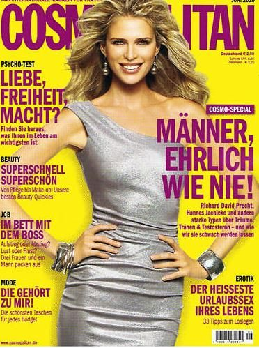 Cosmopolitan Magazine Cover [Germany] (June 2010)