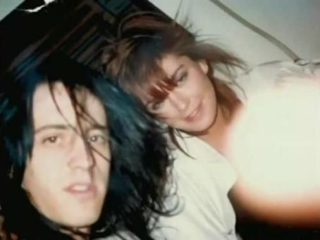 Izzy Stradlin and Adriana Smith