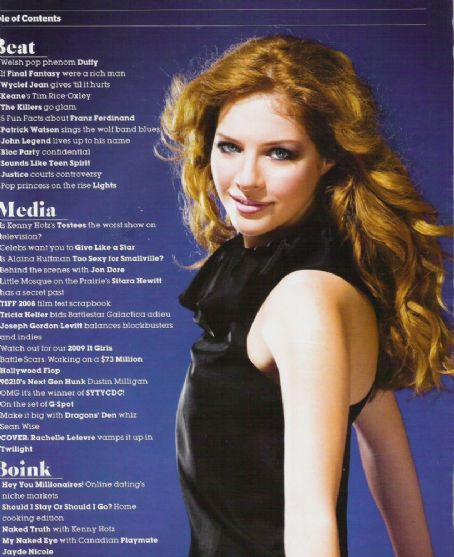 Rachelle Lefevre - Naked Eye Magazine Pictorial [Canada] (January 2009)