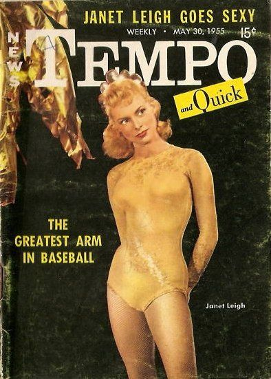 Janet Leigh - Tempo Magazine [United States] (30 May 1955)