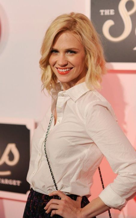 January Jones Pretties Up Target's Launch Party