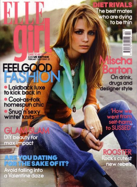 Mischa Barton - Elle Girl Magazine Cover [United Kingdom] (February 2005)