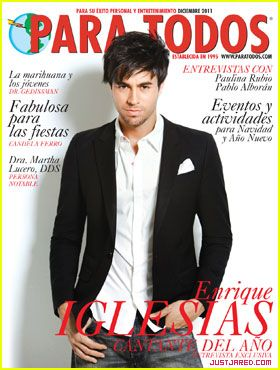 Enrique Iglesias Covers 'Para Todos' December 2011