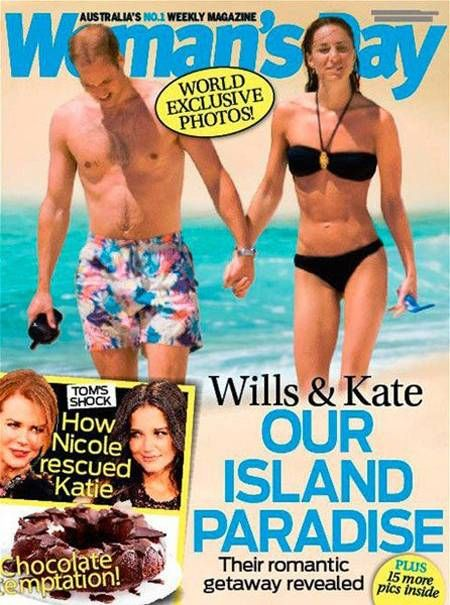 Kate Middleton - Wills & Kate - Our Island Paradise