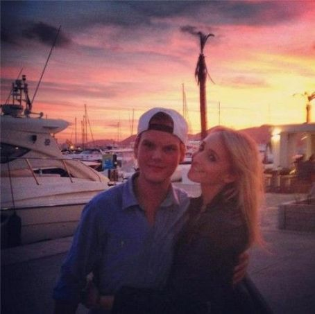 Avicii  and Emily Goldberg