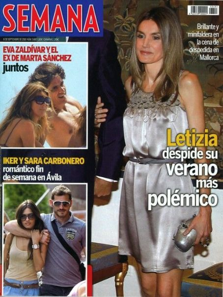 Sara Carbonero - Semana Magazine Cover [Spain] (8 September 2010)