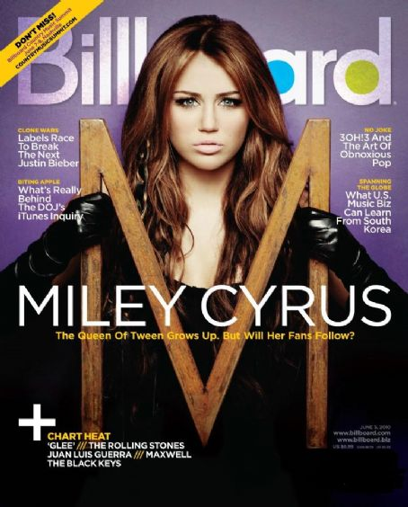 Miley Cyrus - Billboard Magazine [United States] (5 June 2010)