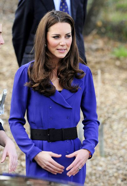 Kate Middleton attends the opening of the Treehouse Hospice in Ipswich, where she gave her first public speech. The event was the Duchess of Cambridge's first speech as a royal. March 19, 2012