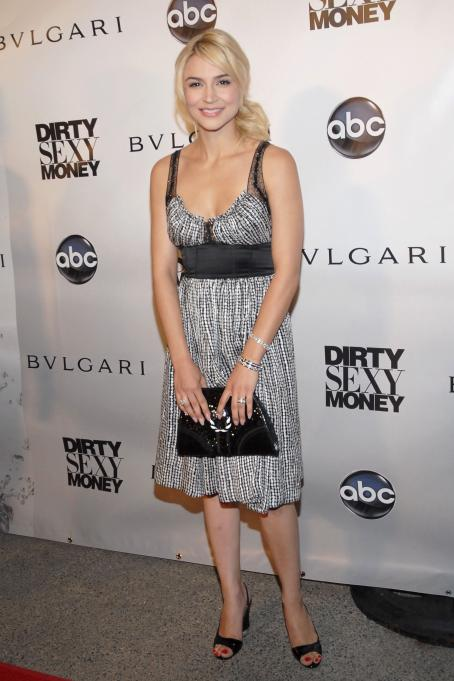 Dirty Sexy Money Samaire Armstrong - 2007 Premiere Event For