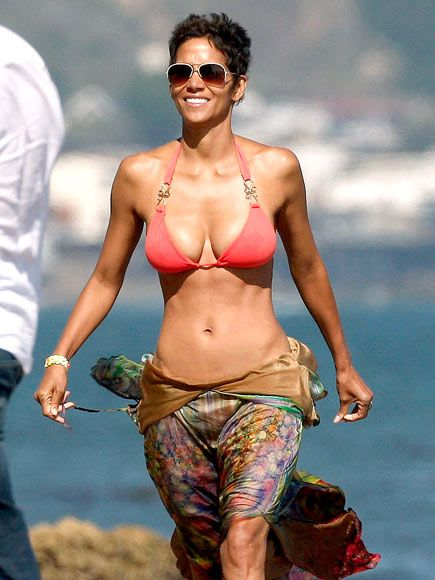 Halle Berry Turns 45, Flaunts Her Perfect Beach Bod