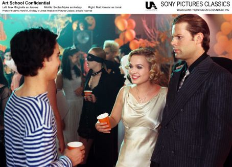 Matt Keeslar Left: Max Minghellas as Jerome; Middle: Sophia Myles as Audrey; Right:  as Jonah. Photo by Suzanne Hanover, courtesy of United Artist/Sony Pictures Classics, all rights reserved