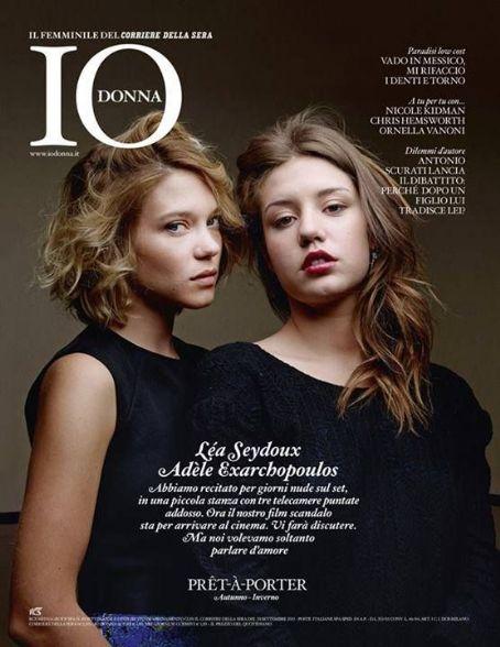 Adèle Exarchopoulos Adele Exarchopoulos & Léa Seydoux