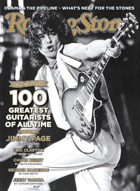 Jimmy Page - Rolling Stone Magazine - December, 2011
