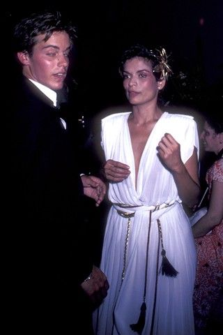 John Stockwell  and Bianca Jagger